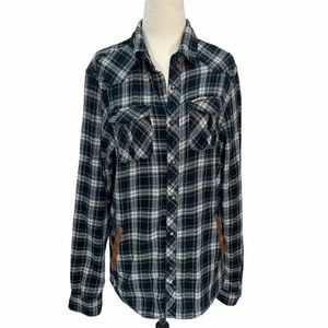 Scotch & Soda Flannel Lined Shirt/Jacket EUC